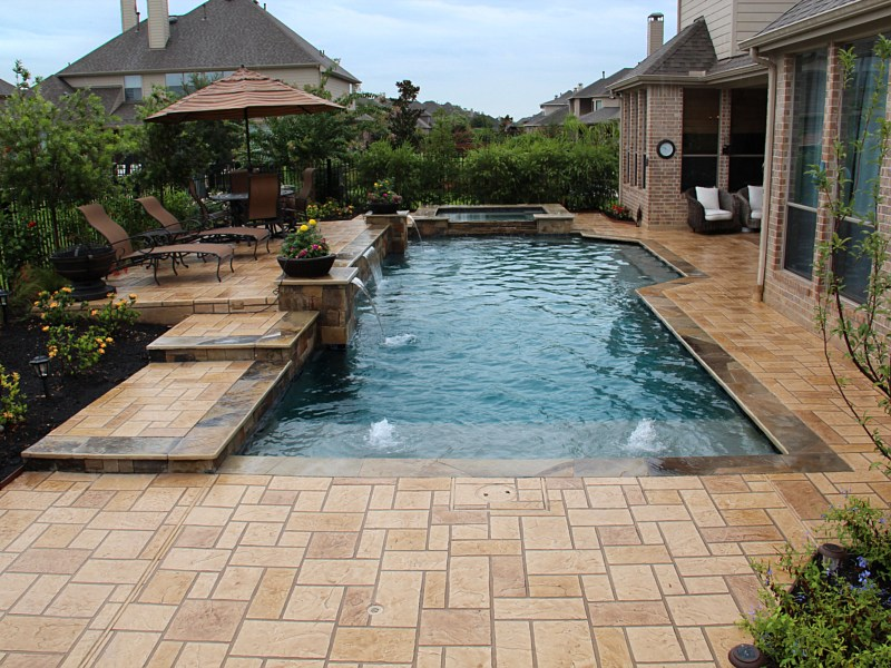 Swimming Pools At East Side : Swimming pools landscape contractor brenham prairie